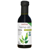 Nutiva Cold Pressed Hemp Oil - 236ml