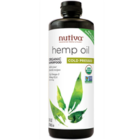 Nutiva Organic Cold Pressed Hemp Oil Superfood - 710ml