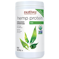 Nutiva Hemp Protein - Organic Superfood - 454g