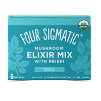 Reishi Mushroom Elixir Mix with Tulsi - 20 Packets