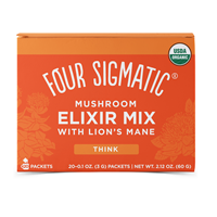 Lion`s Mane Mushroom Elixir Mix - 20 Packets - Best before date is 31st October 2019