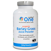 One Nutrition Organic Barley Grass Juice Powder - 100g
