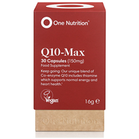 One Nutrition Q10-Max Healthy Heart - 30 Capsules