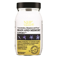 Natural Health Practice Brain and Memory - 60 Vegicaps