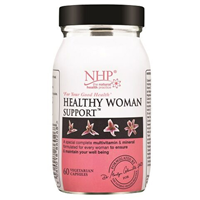 Natural Health Practice Healthy Woman Support - 60 Capsules