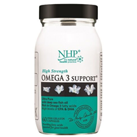 Natural Health Practice Omega 3 Support - 60 Capsules