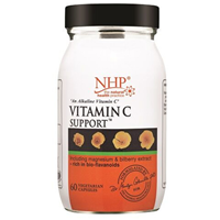 Natural Health Practice Vitamin C - 60 Vegicaps