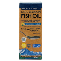 Wiley`s Finest Wild Alaskan Fish Oil Peak Omega-3 - 125ml