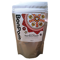 BonPom Raw Organic Goji Berry Powder - 100g