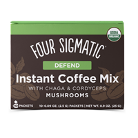Mushroom Coffee Mix - Cordyceps & Chaga - 10 Packets