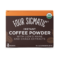 Mushroom Coffee Mix - Lion`s Mane & Chaga - 10 Packets