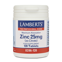 Lamberts Maximum Absorption Zinc as Citrate-120 Tablets