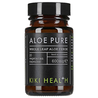 KIKI Health Aloe Pure - 20 x 600mg Vegicaps