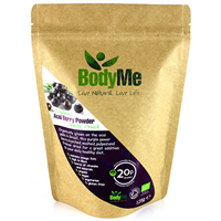 BodyMe Organic Acai Berry Powder - 125g - Best before date is 31st August 2018