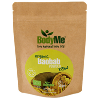 BodyMe Organic Baobab Powder - 50g - Best before date is 31st May 2018