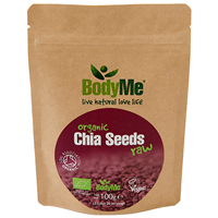 BodyMe Organic Raw Chia Seeds - 100g