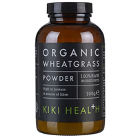 KIKI Health Organic Wheatgrass - 100% Raw - 100g Powder