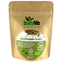 BodyMe Organic Hemp Protein Powder - 50g