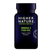 Higher Nature Omega 3 Fish Oil - 90 x 1000mg Capsules