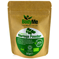 BodyMe Organic Raw Moringa Powder - 50g