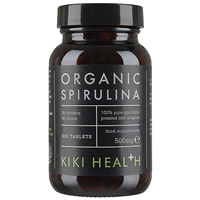 KIKI Health Organic Spirulina - 200 x 500mg Tablets