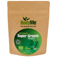BodyMe Organic Super Greens Mix Powder - 50g