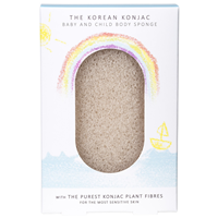 The Konjac Sponge Co Konjac Baby Bath Sponge