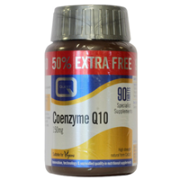 Coenzyme Q10 150mg - 50% Extra FREE - 60+30 Tablets