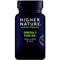 Higher Nature Fish Oil - Omega 3- 180 x 1000mg Capsules