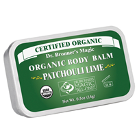 Dr Bronner`s Organic Patchouli Lime Body Balm 14g