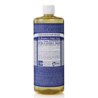 Dr Bronner`s Peppermint Castile Liquid Soap - 946ml