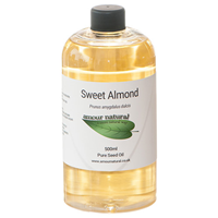 Amour Natural Sweet Almond Pure Seed Oil - 500ml