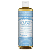 Dr Bronner`s 18-in-1 Baby-Mild Pure-Castile Liquid Soap - 473ml