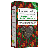 Primrose`s Kitchen Organic Raw Courgette and Cacao Granola - 300g - Best before date is 30th November 2018