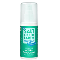 Salt of the Earth Natural Foot Deodorant - 100ml