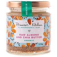 Organic Raw Almond and Chia Butter - 170g