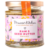 Organic Raw 5 Seed Butter - 170g