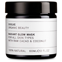 Evolve Radiant Glow Mask With Raw Cacao & Coconut - 60ml
