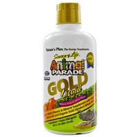 Natures Plus Animal Parade Multivitamin & Mineral Gold Liquid 887ml