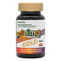 Natures Plus Gold Animal Parade Multivitamin & Mineral 60 Chewables