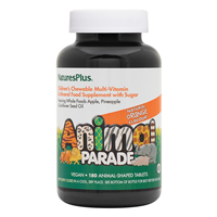 Nature`s Plus Animal Parade Multivitamin & Mineral 180 Orange Chewables