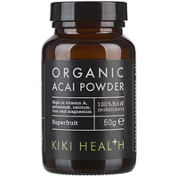 KIKI Health Organic Acai Powder - 50g - Best before date is 30th June 2017
