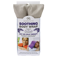 Aroma Home Soothing Body Wrap - Lavender Fragrance - Calming Grey