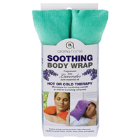 Aroma Home Soothing Body Wrap - Lavender Fragrance - Bright Turquoise