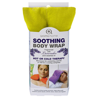 Aroma Home Soothing Body Wrap - Lavender Fragrance - Bright Lime