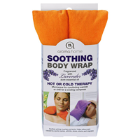 Aroma Home Soothing Body Wrap - Lavender Fragrance - Bright Orange