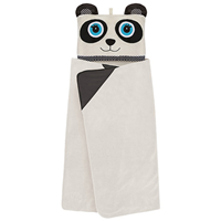 Aroma Home Hooded Blanket for Kids - Panda