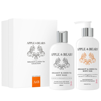 APPLE & BEARS Bergamot & Green Tea Collection - Gift Set