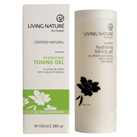 Living Nature Hydrating Toning Gel - Harakeke - 100ml