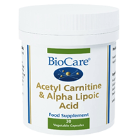 Acetyl Carnitine - Lipoic Acid - 30 Vegicaps